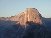 Half Dome bathed in Late Afternoon