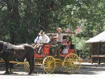 Wawona Stage Coach in Yosemite